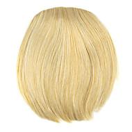 Perruque dorée 8cm à haute température fil de style bangs couleur 1003