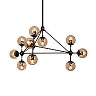 Lustres ,  Contemprâneo Pintura Característica for LED Redução de Intensidade Metal Sala de Estar Quarto Sala de Jantar