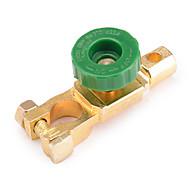 jtron 400a Autobatterie Netzschalter / Batterieschalter Kopf - golden + grün