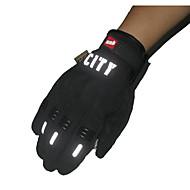 paardrijden volle vingeraanraking handschoenen reflecterende niet-toxisch geurloos anti-slip ademend waterdicht