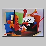 käsinmaalattu abstrakti tunnetuin öljyvärimaalaus kankaalle seinälle kuvan venytetty runko valmiina ripustaa