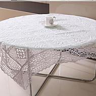 Neliö Kukka Table Cloths , 100% puuvillaa materiaali Sisustus