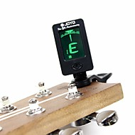 ammattilainen Sähköinen virittimet Korkeatasoisia Guitar Akustinen kitara Ukulele New Instrument Muovi Musical Instrument Varusteet