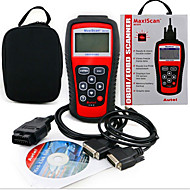 MS509 leitor de código de scanner obd2 detector veículo MaxiScan instrumento de diagnóstico de falhas