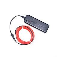Youoklight 3M Grøn Rød Blå Farver Fleksibel Neon El Wire Lys Dans Part Indretning Lys