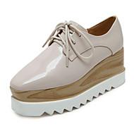 Žene Cipele na petu Proljeće / Ljeto / Jesen / Zima Udobne cipele / Uglate cipele / Cipele zatvorenih prstiju Umjetna koža Ležerne prilike