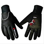 Спортивные перчатки Универсальные Перчатки для велосипедистов Зима ВелоперчаткиСохраняет тепло Водонепроницаемость С защитой от ветра