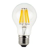 8W E26/E27 LED kulaté žárovky A60(A19) 8 COB 780 lm Teplá bílá Stmívací / Voděodolné V 1 ks