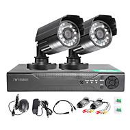 Twvision® 4ch hdmi 960h cctv dvr видеонаблюдение 1000tvl наружные водонепроницаемые камеры cctv system