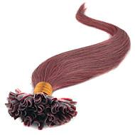 16-24inches virgin 0,5 g keratyny natil końcówki przedłużanie włosów u czubka fuzyjnych końcówki kija przedłużanie włosów wstępnie