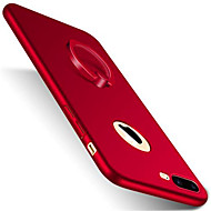Kompatibilitás iPhone X iPhone 8 iPhone 8 Plus iPhone 7 iPhone 7 Plus iPhone 6 tokok Állvánnyal Tartó gyűrű Jeges Hátlap Case Tömör szín