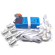 Lumini LED Cabinet Alb Cald / Alb Rece LED / Stil Minimalist 6 bc