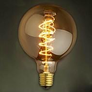 G125 vezeték körül 40W izzó Edison izzók bár gyöngy izzólámpán Edison villanykörte retro dekoráció
