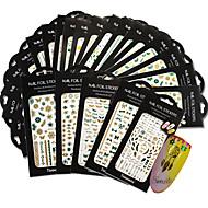 1pack, 1design Nail Art tarra 3D Nail Stickers meikki Kosmeettiset Nail Art Design
