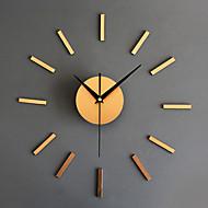 コンテンポラリー / レトロ風 休暇 / 抽象風 / 家族 / 漫画 壁時計,円形 / ノベルティ柄 アクリル / ガラス / メタル 40cm(16in) 屋内/屋外 クロック