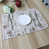 方形 パッチワーク パターン柄 プレイスマット , コットンブレンド 材料 ホテルのダイニングテーブル 表Dceoration