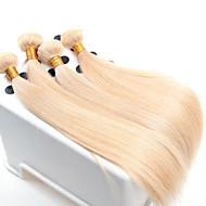 dziewiczy włosy proste, 4 szt / wiele hurtowni prosto europejskiej splotów włosów kolor 613
