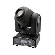 u'king®30ワット8本snowflower効果パターンはDJカラオケクリスマス1PCS黒ヘッドステージ光DMX512自動音声制御を移動スポットを主導しました