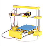 diy máquina 3d impressora de produção tridimensional modelo de aeronave ferramentas criativas