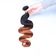 Ombre Brazilska kosa Tijelo Wave kosa isprepliće
