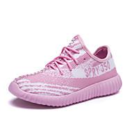 Damen Sneaker Komfort Leuchtende Sohlen paar Schuhe Tüll Frühling Sommer Herbst Sportlich Normal RennenKomfort Leuchtende Sohlen paar