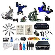 Полный комплект татуировки1 х Металлическая тату-машинка для контура и заливки 2 х Роторная тату-машинка для контура и заливки 1 х сплава