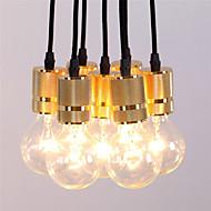 Riipus valot ,  Rustiikki Vintage Retro Maalaus Ominaisuus for Minityyli Metalli Ruokailuhuone Kitchen Merkintä Pelihuone Käytävä