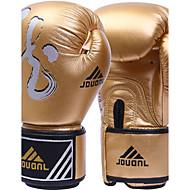 Boxhandschuhe für Boxen Vollfinger Schützend Nylon Leder Gold Schwarz Silber Rot