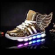 Para Meninos-Tênis-Light Up Shoes-Rasteiro--Sintético-Ar-Livre Casual Para Esporte