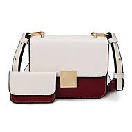 női táska állítja pu minden évszakban hivatalos alkalmi rendezvény / party esküvő iroda&karrier szárny kapocs zár khaki narancs fehér