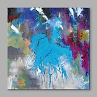 Maalattu Abstrakti Abstrakti 1 paneeli Kanvas Hang-Painted öljymaalaus For Kodinsisustus