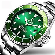 Pánské Hodinky k šatům Módní hodinky Náramkové hodinky mechanické hodinky Automatické natahování Kalendář Voděodolné Svítící Nerez Kapela