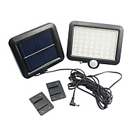 Sensor de movimento solar powered outdoor jardim segurança inundação luz spot lâmpada