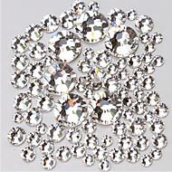 14400 Nail Art Decoration tekojalokivi Pearls meikki Kosmeettiset Nail Art Design