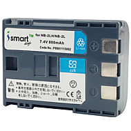 ismartdigi 2l 7.4V μπαταρία 800mAh κάμερας για Canon 400D S80 S70 350D g7 G9 S60