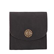 Mulher Porta Dinheiro Couro Ecológico Todas as Estações Casual Magnético Preto Azul Escuro Rosa claro