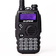 Baofeng uv-a52 walkie talkie uhf vhf dual band bf a52 cb radio 128ch vox camo farve dual display transceiver til jagt radio