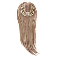 Uniwigs remy ihmisen hiukset mono hairpiece sulkeminen käsin tehty sidottu hiukset kappaletta suoraan 16 tuumaa hiustenlähtöön (y-22)