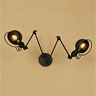 AC 220-240 AC 110-120 60 E26/E27 Vintage Retro Zemlja Painting svojstvo for Mini Style,Dolje zidna svjetiljka