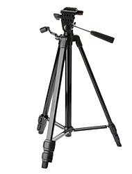 Victory 2016-BK 3-Section Camera Light Weight Statief (Zwart)