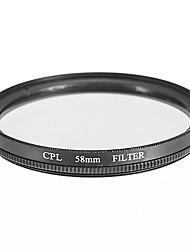 CPL filtr pro fotoaparát (58 mm)