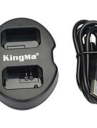 kingma® dupla entrada USB carregador de bateria para sony bateria np-FW50 para NEX-5C NEX-C3 NEX-7 a33 a55 NEX-5N NEX-F3 SLT-A37 NEX-7 câmera