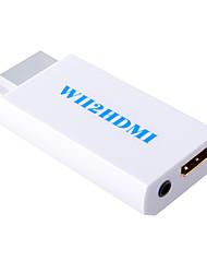 Wii na HDMI konverter Adapter wii2 HDMI 3.5mm audio box Wii-link