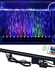LED Aquarium Verlichting 50 SMD 5050 lm RGB Op afstand bedienbaar Decoratief Waterbestendig AC 100-240 V 1 stuks