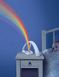 rgb fashion regenboog licht voor kind meisjes leidde projector romantische projectie lamp 's nachts het licht sfeer aaa-lampen