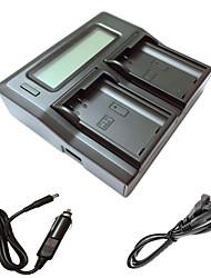 ismartdigi EL15 lcd carregador duplo com cabo de carga do carro para Nikon D7000 D7100 batterys câmera D7200 D750 D610 D800 d810