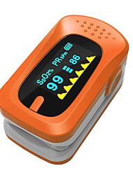 SPortguard Fingerspids pulsoximeter SpO2 Pulsmåler - Orange