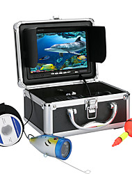 7 palců 1000tvl podmořský rybolov videokamera sada 12 kusů vedl světla Video pod vodou ryby kamerou