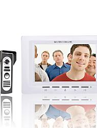 mountainone 7 palců Video dveřní telefon zvonek intercom kit 1 kamera 1 monitor noční vidění