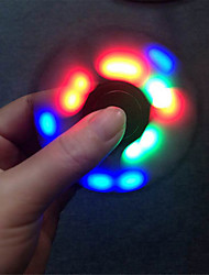 Ywxlight ® הוביל fidget ספינר יד צעצועים תלת טווה פלסטיק EDC מתח חרדה הקלה במשרד צעצועים במשרד